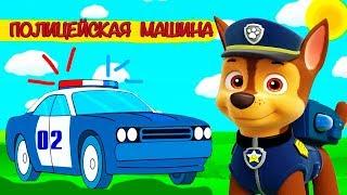 Полицейская машина Гонщика - Щенячий патруль