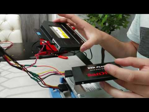 Dell Optiplex 9020 SFF - How To install SSD and HDD (Dual Drives)