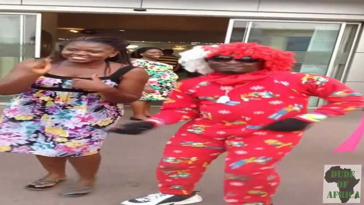 Azonto dance by Crazy Nigerian Clown