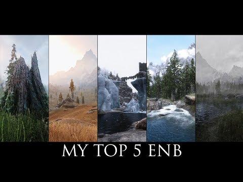 My TOP 5 ENB - Comparison - Skyrim SE 2019 - Aequinoctium, Rudy, Mythical, PRT, Pinnacle Reality thumbnail