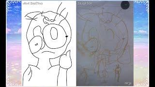 Recreando en Digital un dibujo que mi hija hizo cuando tenia 2 años | Mimi Destino