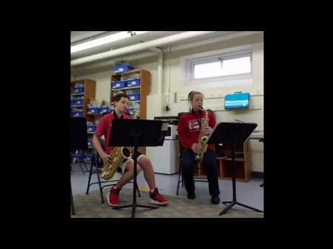 Alto and Tenor sax - Jurassic Park
