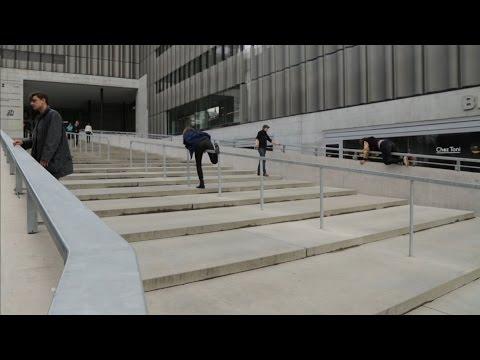 Die Treppe (ZHdK) - Wege hoch, Wege runter
