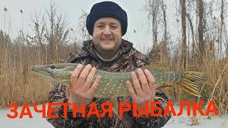 ЩУКА на жерлицу Зимняя рыбалка Кроссфит отдыхает