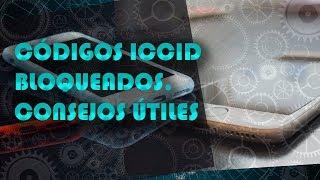 Códigos ICCID bloqueados. Activación por código IMSI. Consejos útiles.