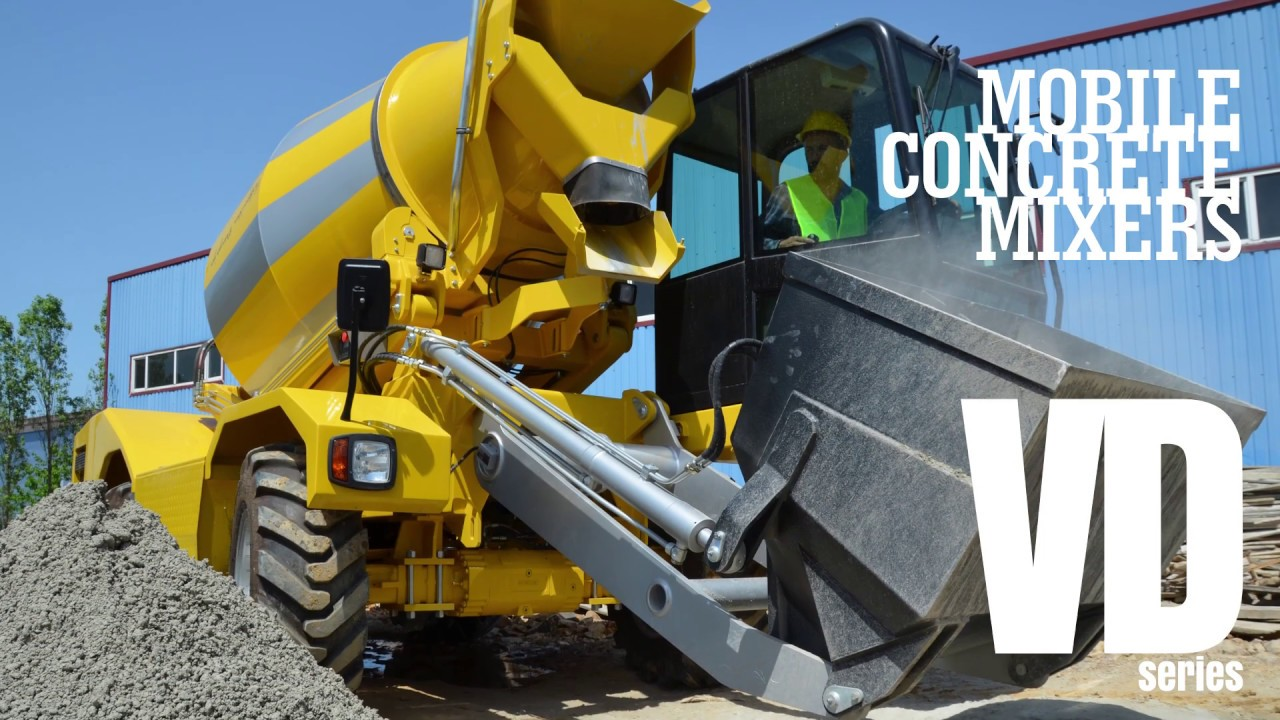 Mobile Concrete Mixers | VD Series