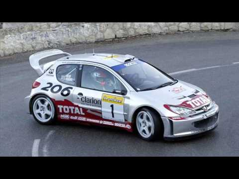 peugeot 206 rally - youtube