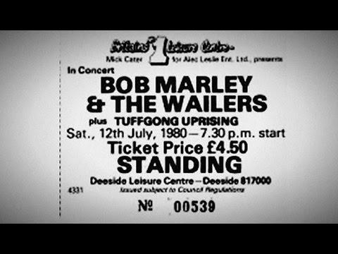 "Bob Marley ""Deeside Leisure Center: 07/12/80"" (Complete - SBD)"