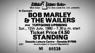 "Bob Marley ""Deeside Leisure Center: 07/12/80"" (Complete - SBD)"