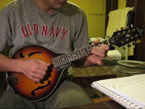 mandolin D major exercise