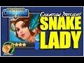 Смотреть или скачать ютуб видео Смотреть онлайн или скачать вк видео DUNGEON HUNTER CHAMPIONS: Snake Lady Champion Spotlight