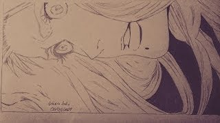 Speed Drawing - Matsumoto Rangiku (Bleach)
