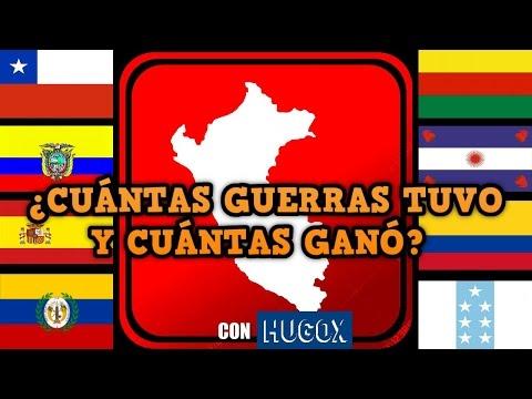 Especial: TODAS LAS GUERRAS DEL PERÚ EXPLICADAS (Pacífico, Cenepa etc resumen) | @SoyHugoX