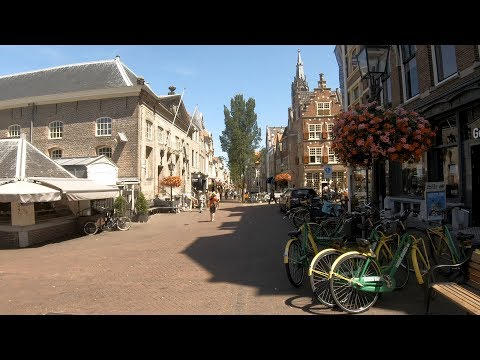 Walking in Delft ☀️ | The Netherlands - 4K60