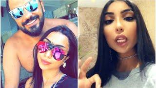 دنيا بطمة تتخلى عن زوجها محمد الترك