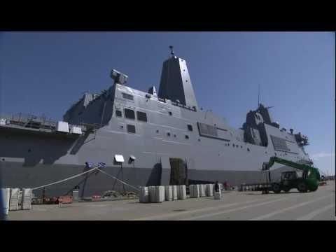 USS Arlington LPD24 Commissioning