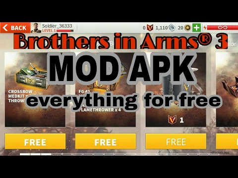 Brothers in Arms 3 v1.4.4c - Hack/Mod APK, Free Everything, Unlimited VIP, Free Brothers