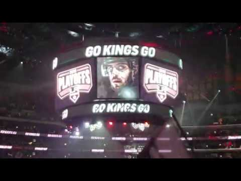 Los Angeles Kings entrance - Game 3 vs Vegas Golden Knights