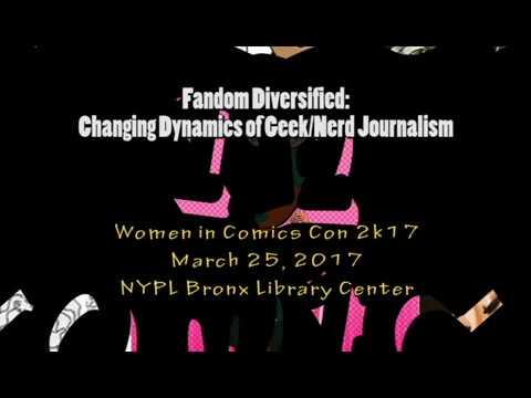 Fandom Diversified Panel at Women in Comics Con 2k17