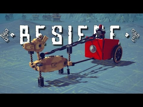 TABS Chariot, Walking Fortress, and More! - Besiege Best Creations Gameplay