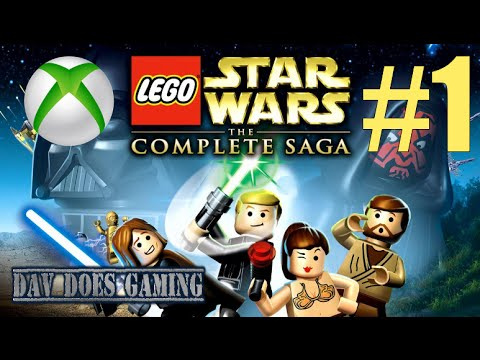 LEGO Star Wars: The Complete Saga - Part 1 (Xbox One) - YouTube