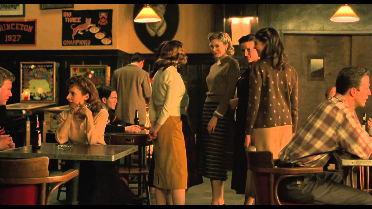 A Beautiful Mind - Bar Scene John Nash's Equilibrium Game Theory [1080p english full scene]