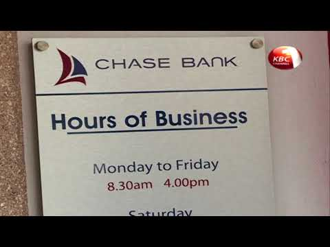 Central Bank extends the receivership period for Chase Bank