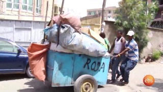 semonun addis:Cleaning Addis Abeba