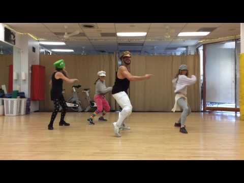 MALIBU DANCE PROJECT with Ryan Johnson Choreography funk, pop-locking to Perm by Bruno Mars