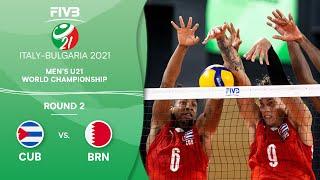 LIVE 🔴 CUB vs. BRN - Round 2 | Men's U21 Volleyball World Champs 2021