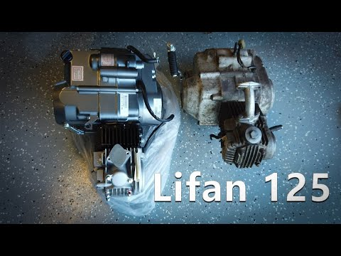 125cc Lifan Engine - YouTube