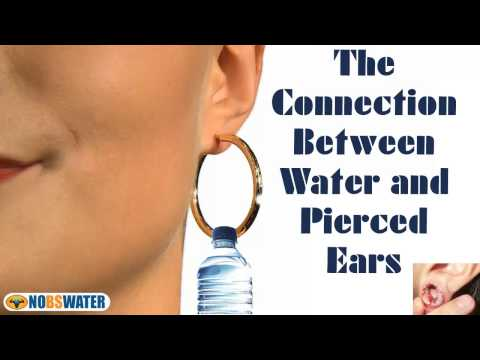 The Connection Between Water And Pierced Ears