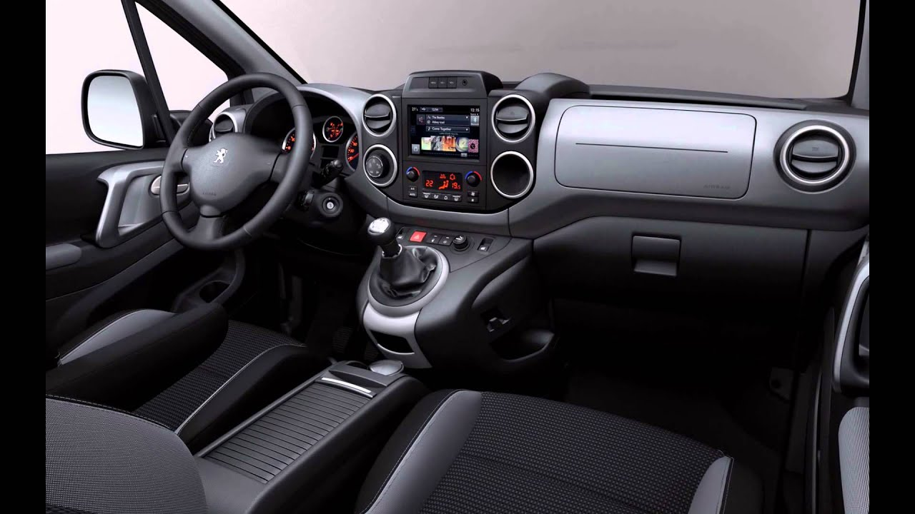2016 peugeot partner tepee interior youtube