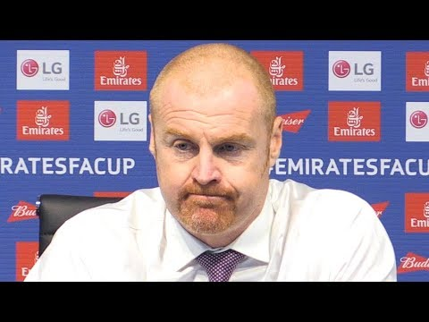 Manchester City 5-0 Burnley - Sean Dyche Full Post Match Press Conference - FA Cup