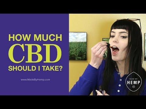CBD Dosages: How Much Should I Take?