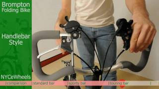 Brompton folding bike - Handlebars