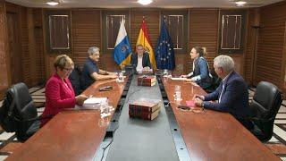Reunión extraordinaria del Consejo de Gobierno de Canarias