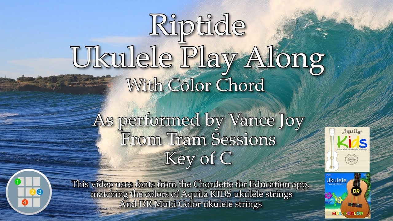 Riptide (Acoustic) Ukulele Play Along