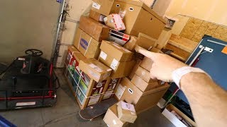 what's inside all these packages?? **HUGE MAILTIME**