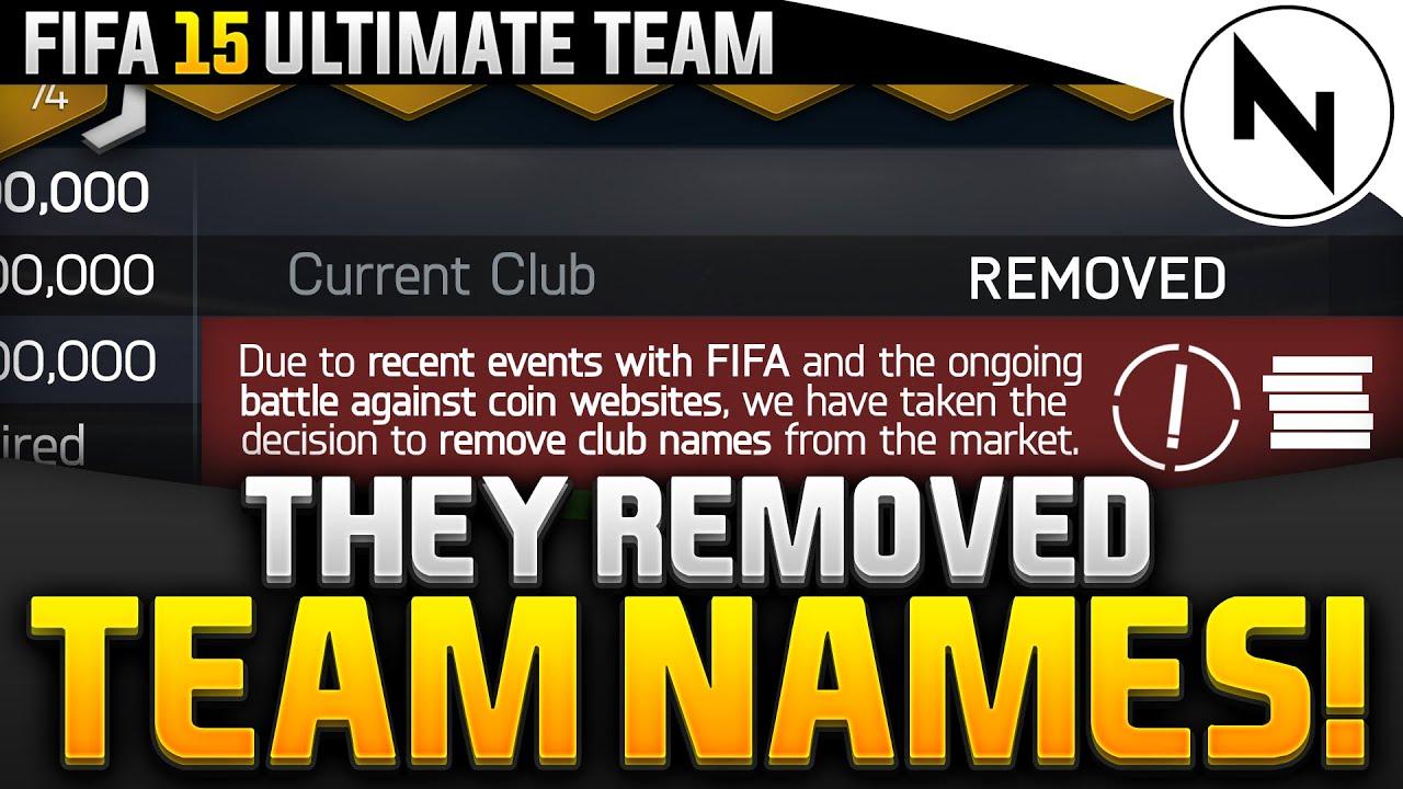 Funniest Team Names : FIFA - reddit