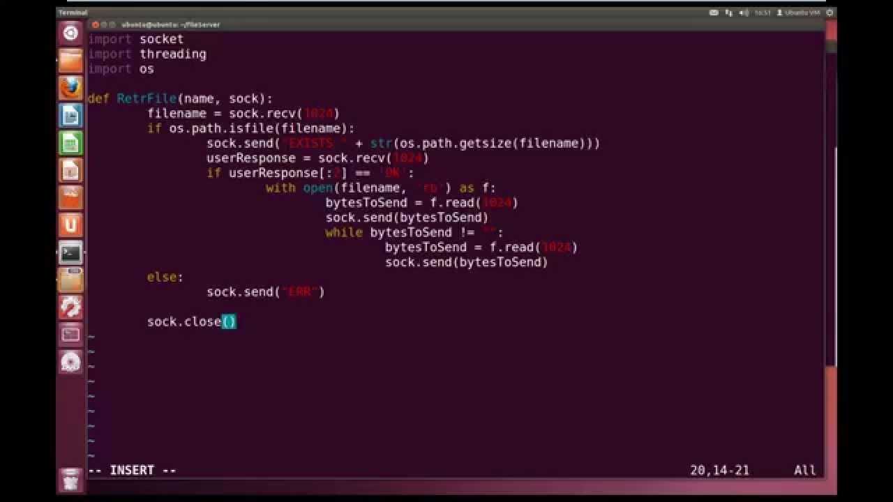 Python Advanced Tutorial 6 6 - Simple File Server