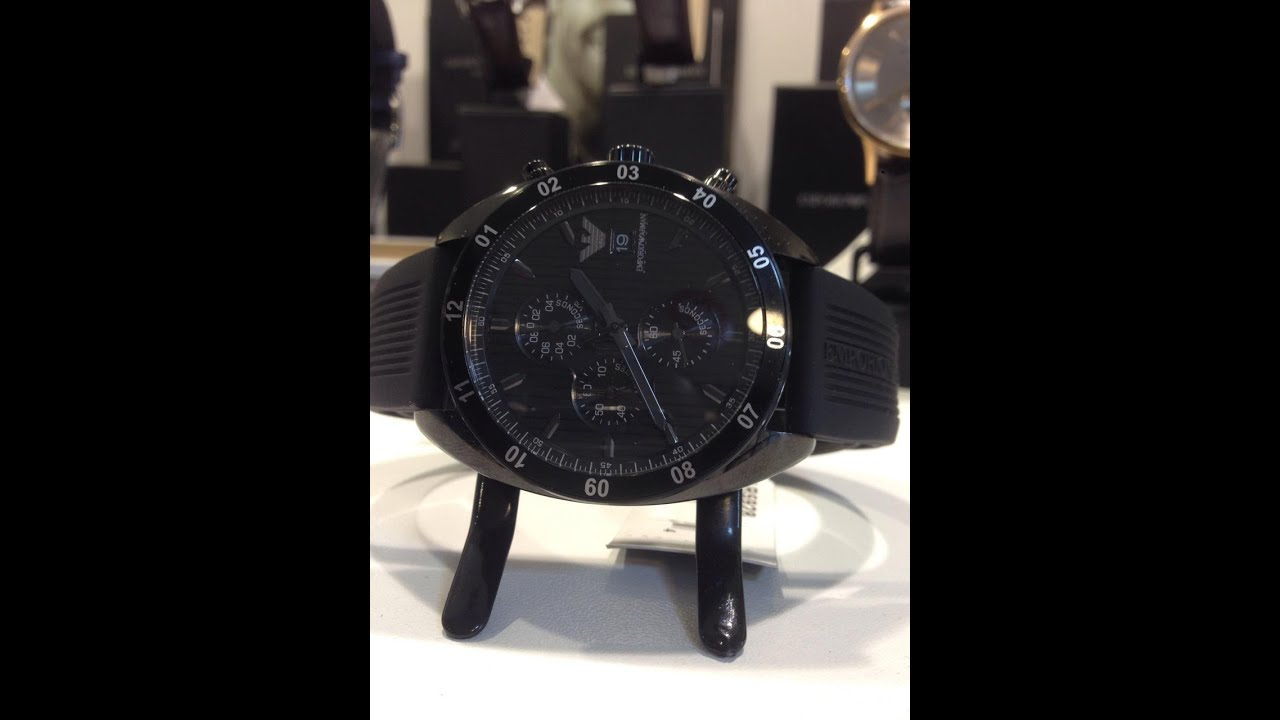bdb7147956f4 How to Replace a Battery in an Emporio Armani Watch AR5928 - YouTube