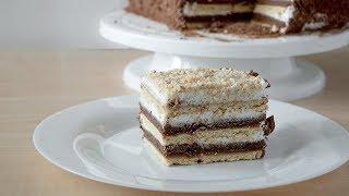 Нереально вкусный торт без выпечки за 15 минут