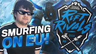 DYRUS | SMURFING ON RIFT RIVALS