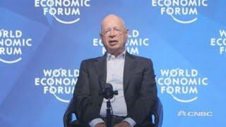 Professor Klaus Schwab, founder and executive chairman of the World Economic Forum