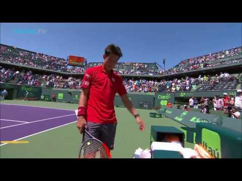 Kei Nishikori through to Miami Open fourth round