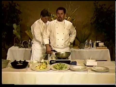 Michael Scott and Richard Bailey Cooking