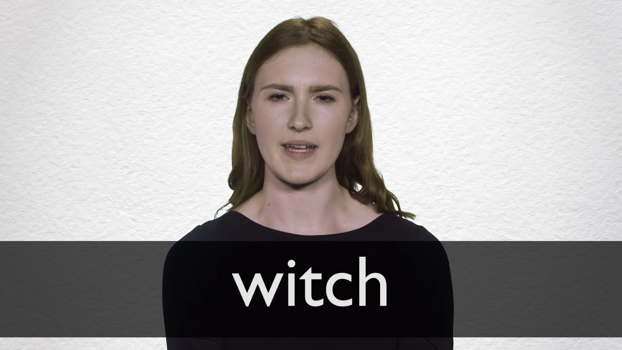 How to pronounce WITCH in British English