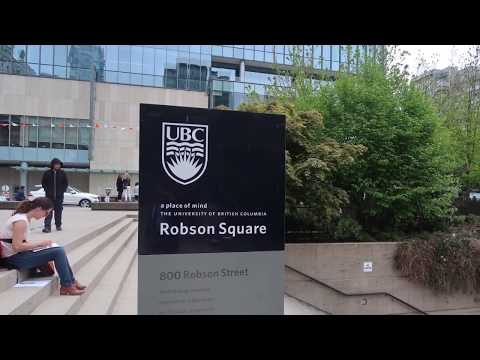 UBC's Robson Square Campus in Downtown Vancouver