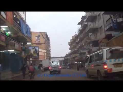 A Sneak Peak into Kampala Down Town on December 26, 2014